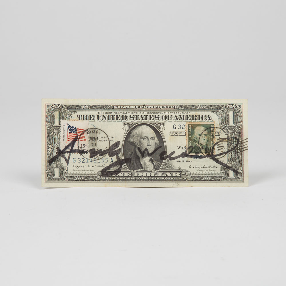 Andy Warhol-One Dollar-