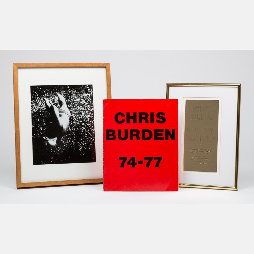 Chris Burden-Through the Night Softly-1973