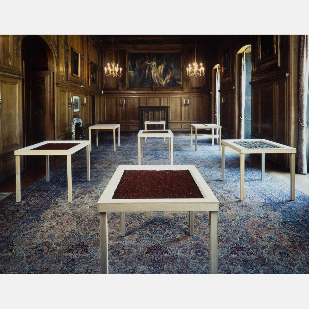 Gerald Giamportone-Two Installation Views-