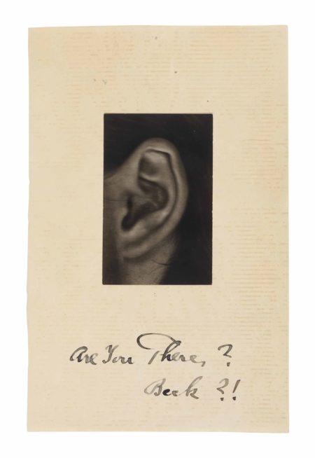 Alfred Stieglitz-Rebecca's Ear-1922