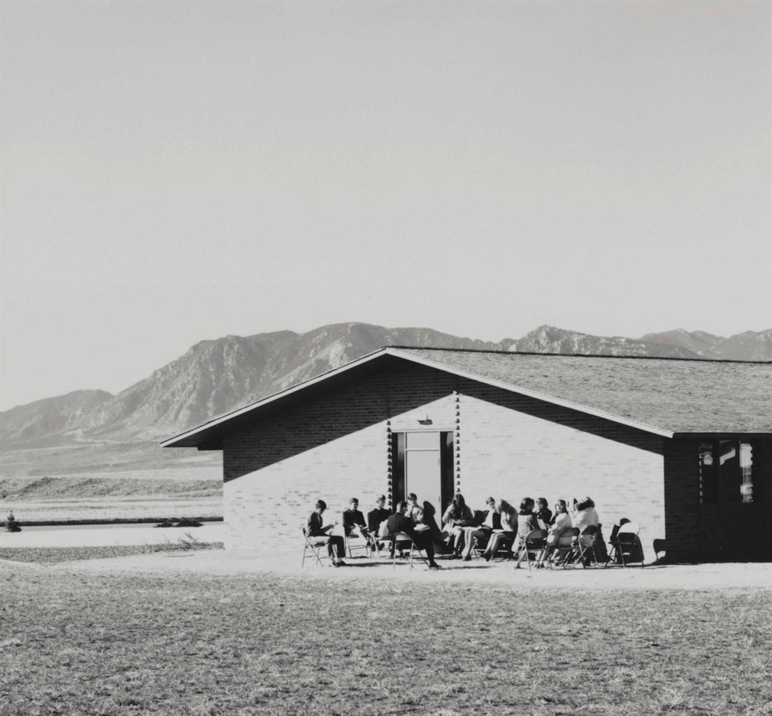 Robert Adams-Sunday School. A Church in a New Tract, Colorado Springs, Colorado-1969