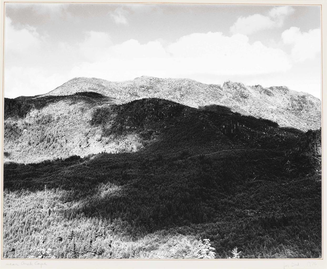 Robert Adams-Near Arch Cape, Oregon-1976
