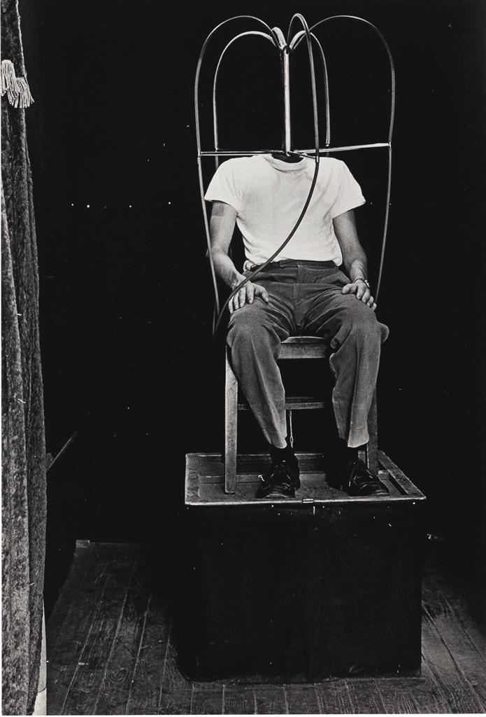 Diane Arbus-Headless Man, N.Y.C.-1961