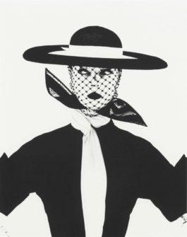 Irving Penn-Black and White Vogue Cover (Jean Patchett), New York-1950