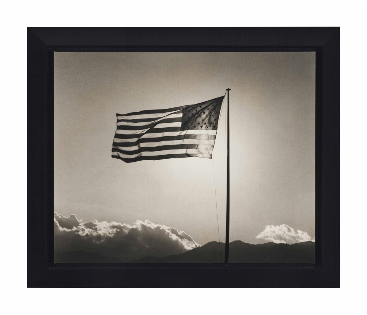 Robert Mapplethorpe-Flag-1987
