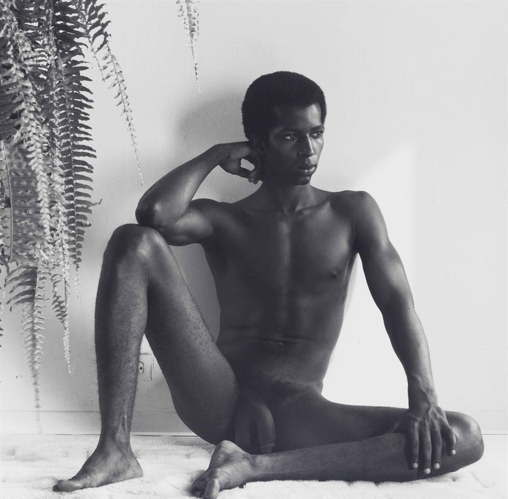 Robert Mapplethorpe-Ron Simms-1978