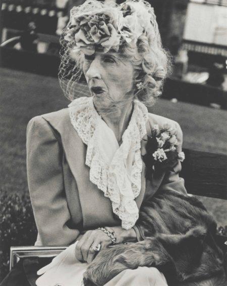 Lisette Model-Woman with Veil, San Francisco-1949
