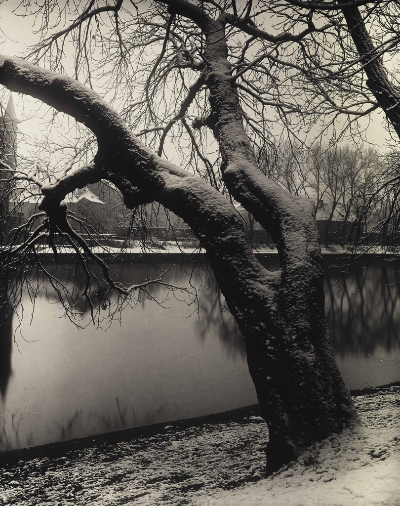 Josef Sudek-View from Strelecký Island-1957
