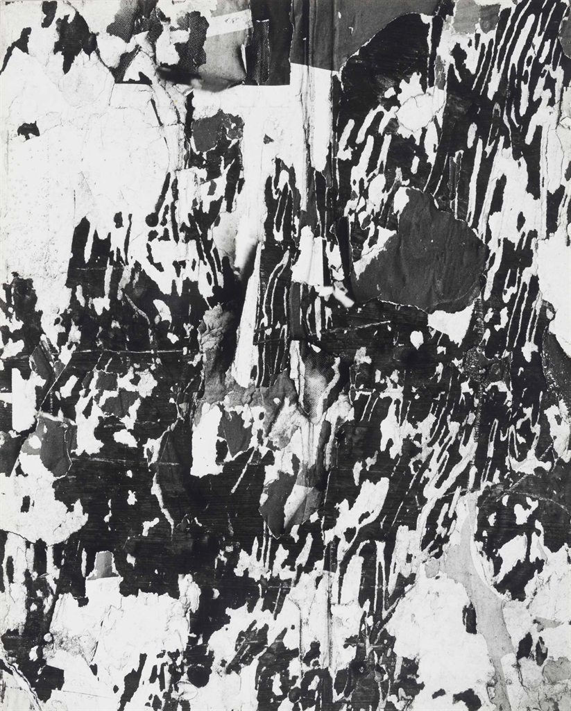 Harry Callahan-Untitled (Torn wall)-1950