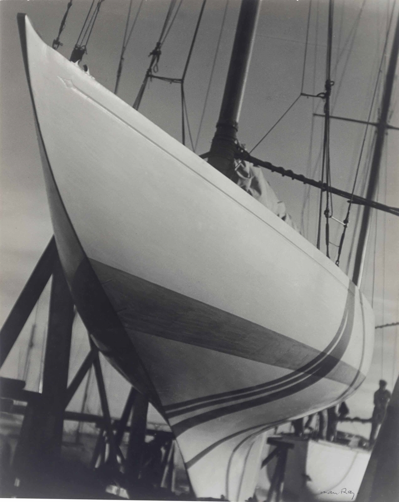 Man Ray-Hull in Dry Dock-1930