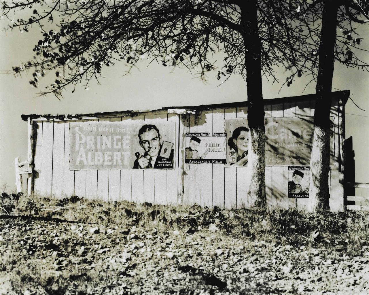 Walker Evans-Sharecropper's Barn, Alabama-1936