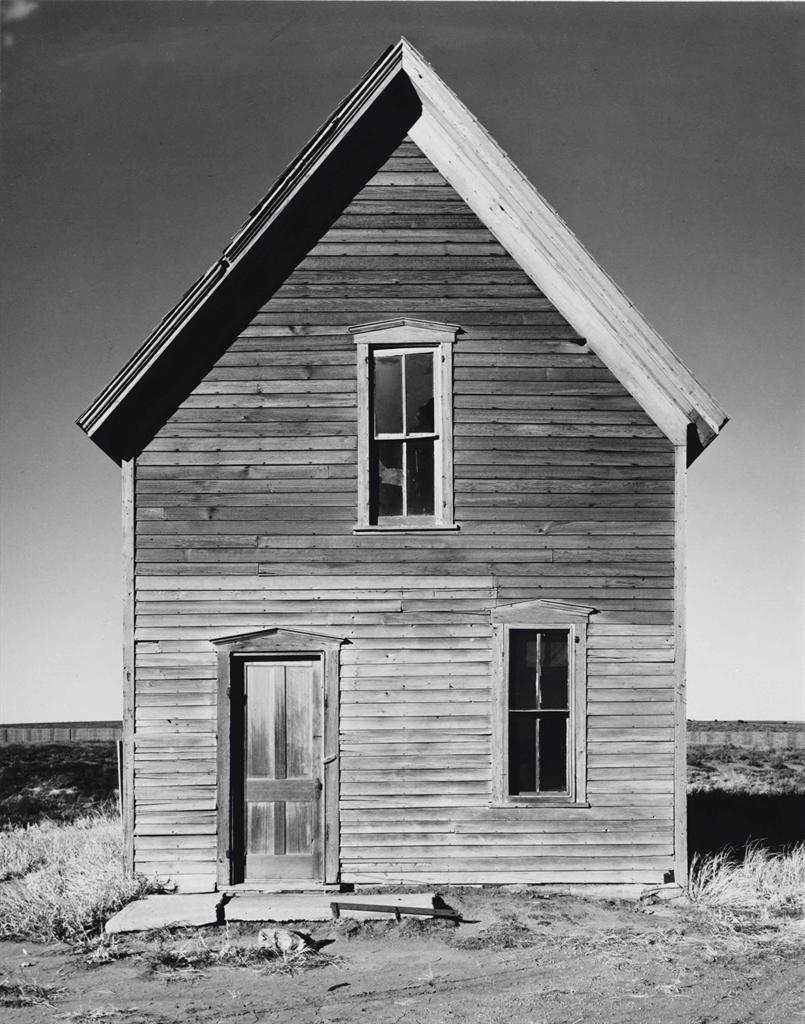 Wright Morris-Farm House near McCook, Nebraska-1940