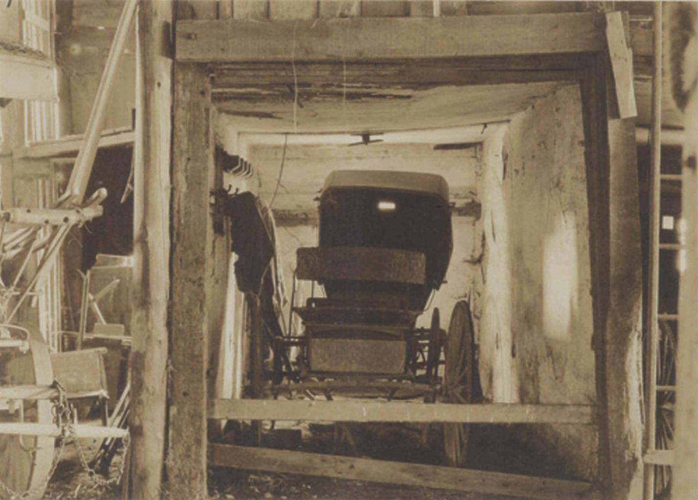 Charles Sheeler-Buggy, Bucks County-1917