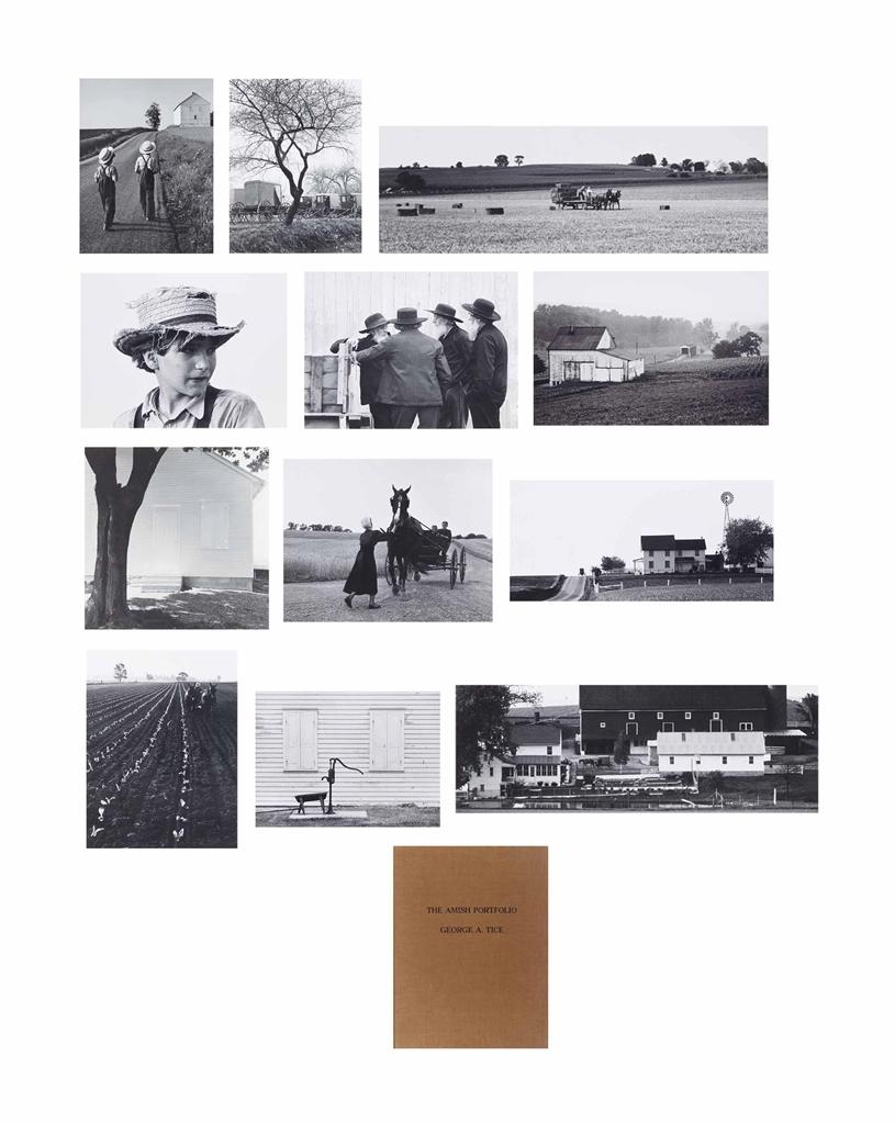George Tice-The Amish Portfolio-1968