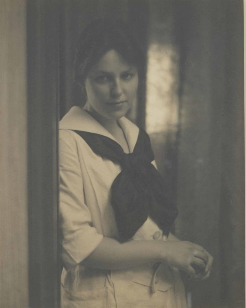 Alfred Stieglitz-Marie Rapp-1914