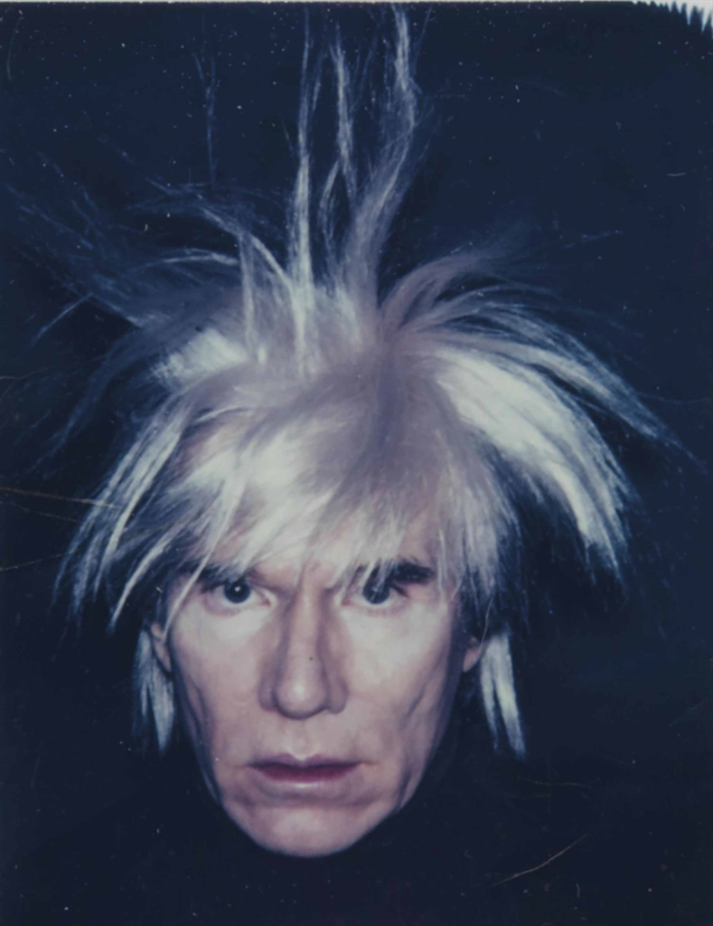 Andy Warhol-Self-Portrait with Fright Wig-1986