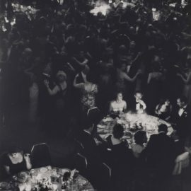 Andreas Feininger-Dinner by Candle Light at the Waldorf, New York-1962