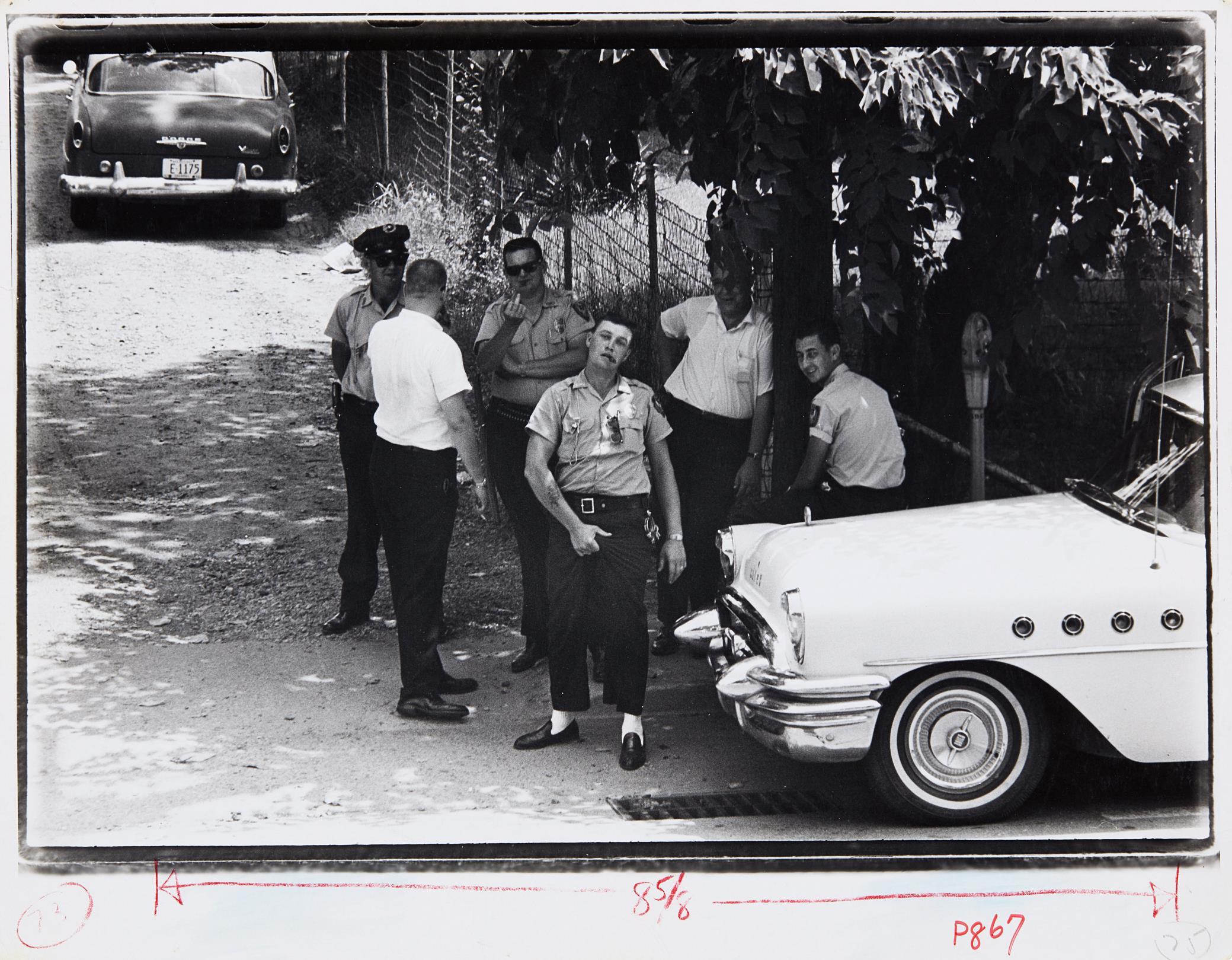 Danny Lyon-Policemen, Clarksdale, Mississippi-1963