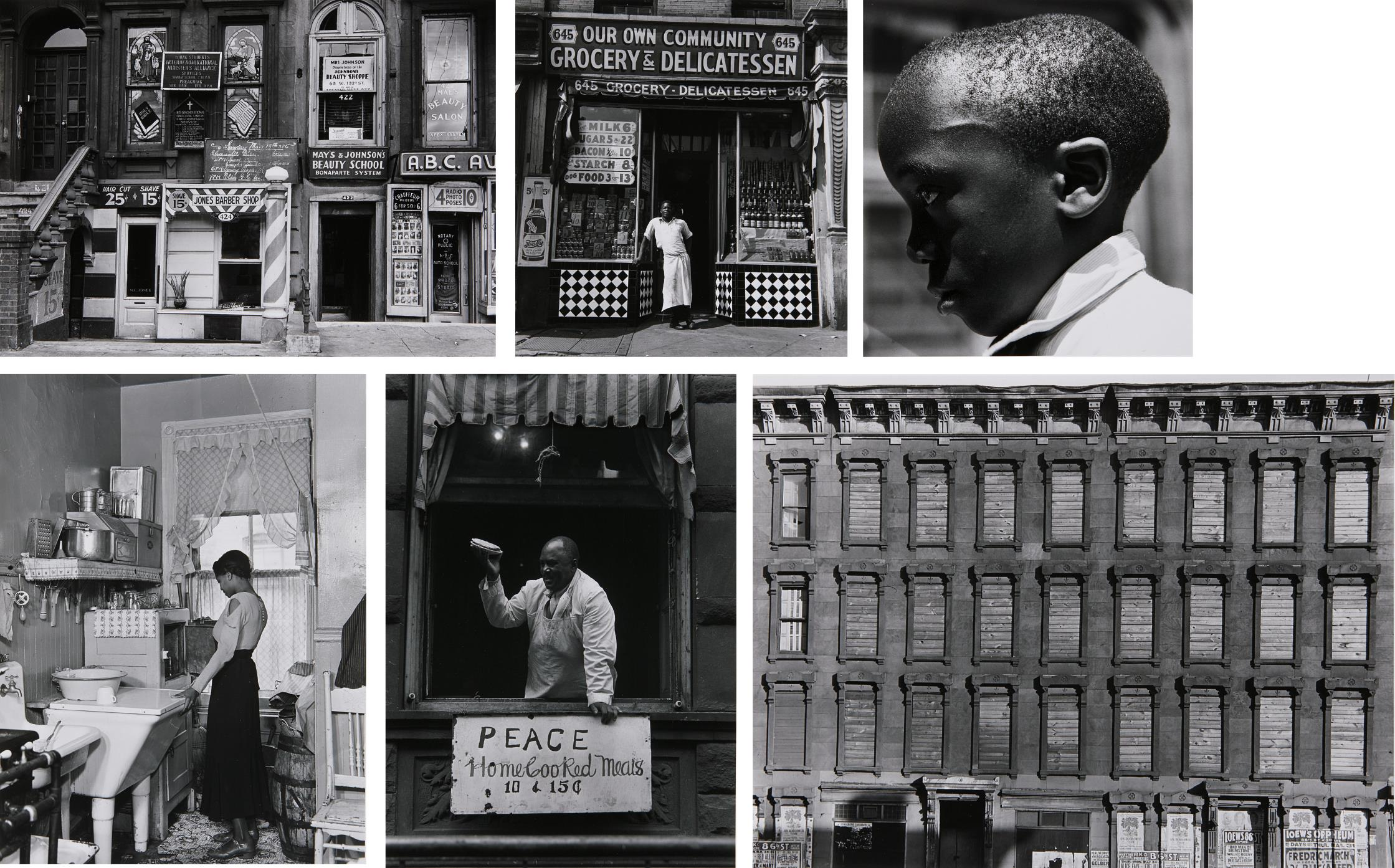 Aaron Siskind-Selected Images Of Harlem-1940
