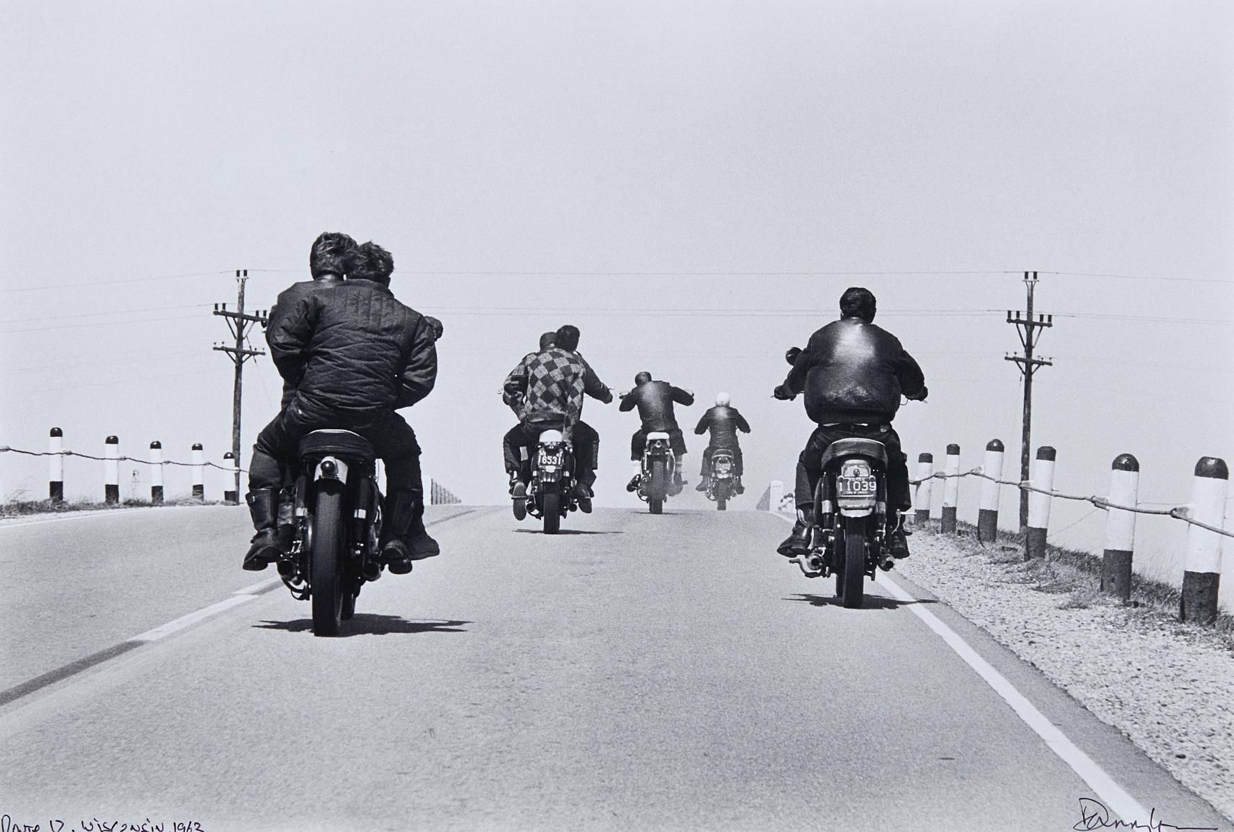 Danny Lyon-Route 12, Wisconsin-1963
