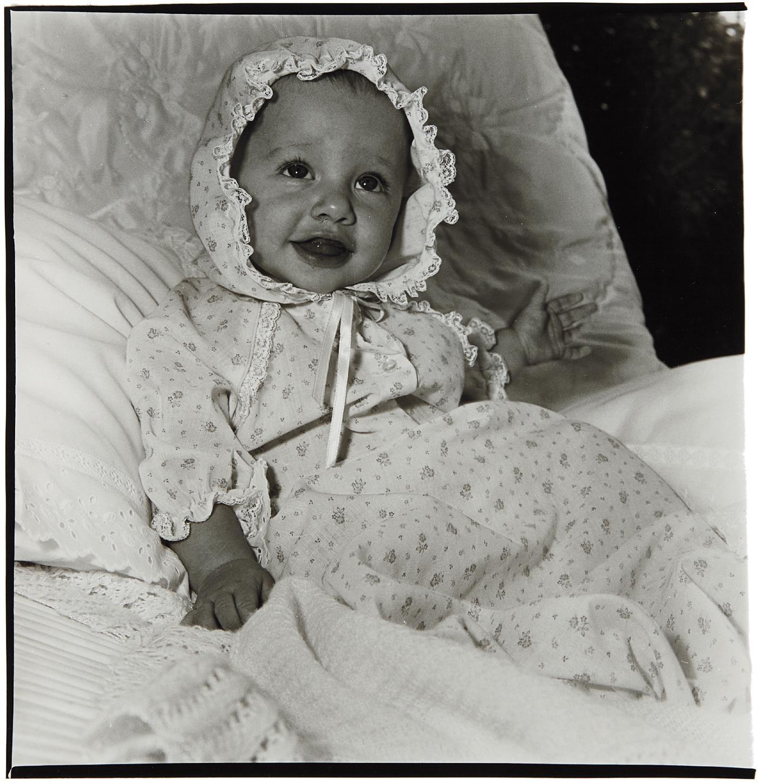 Diane Arbus-Baby In A Lacey Bonnet, N.Y.C.-1968