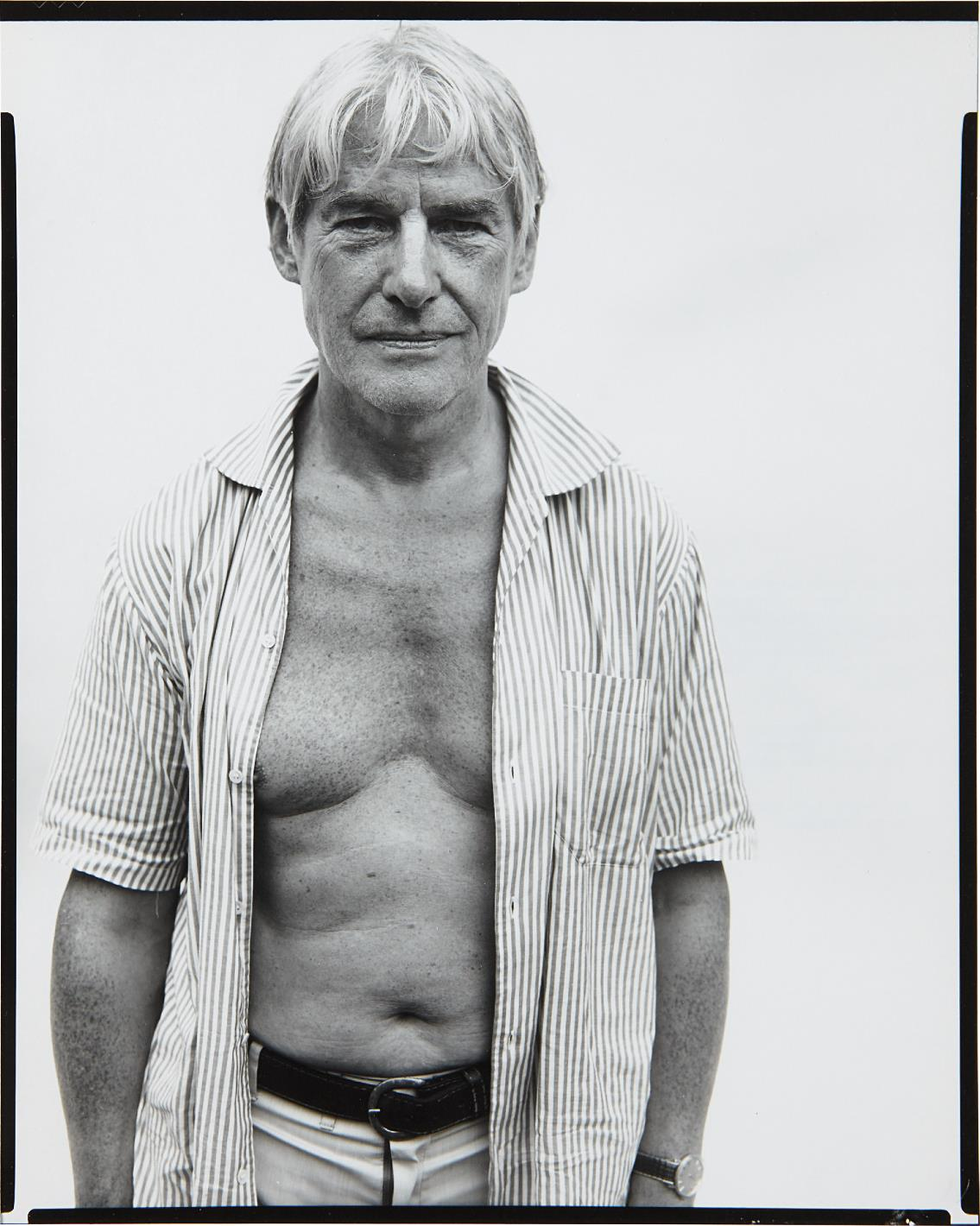 Richard Avedon-Willem De Kooning, Painter, Springs, Long Island, August 18, 1969-1969