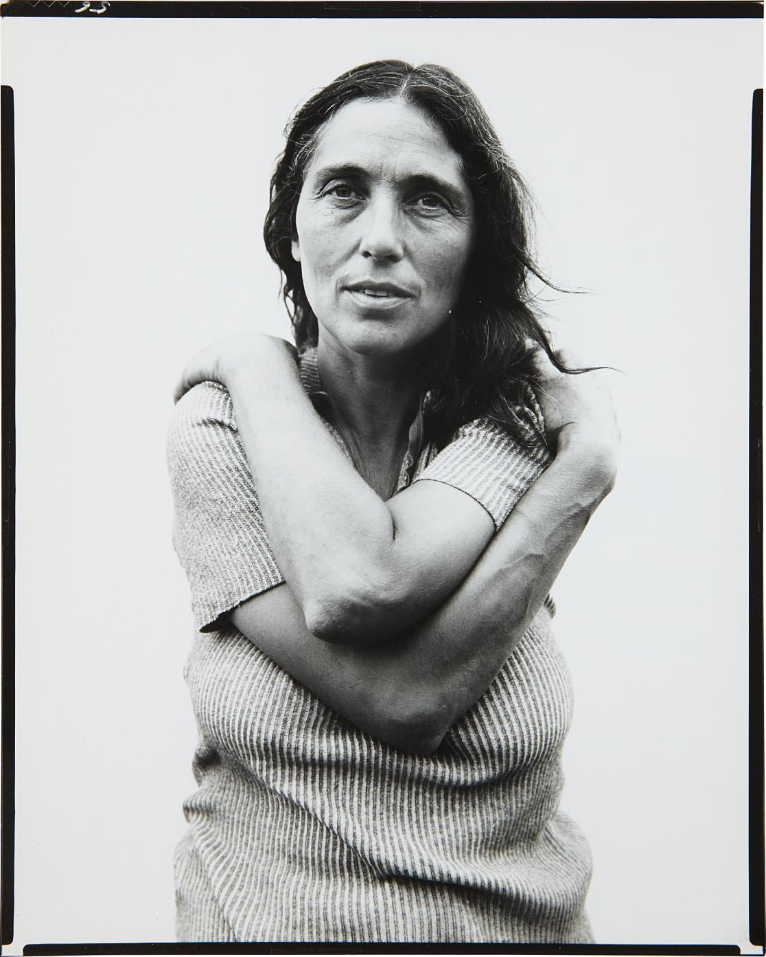 Richard Avedon-June Leaf, Sculptress, Mabou Mines, Nova Scotia, July 18, 1975-1975