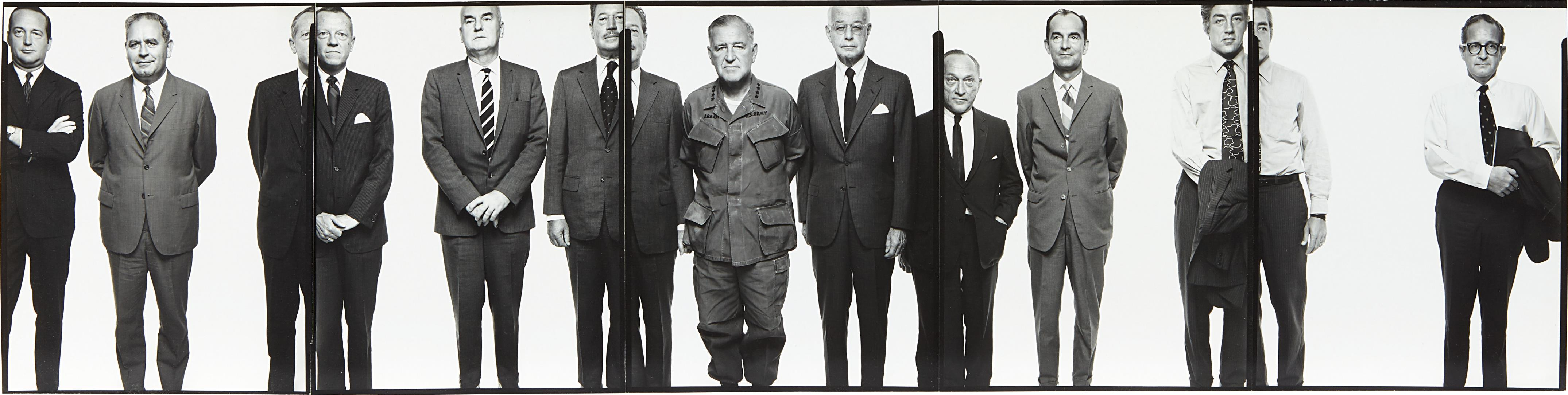 Richard Avedon-The Mission Council, Saigon, April 27, 1971-1971