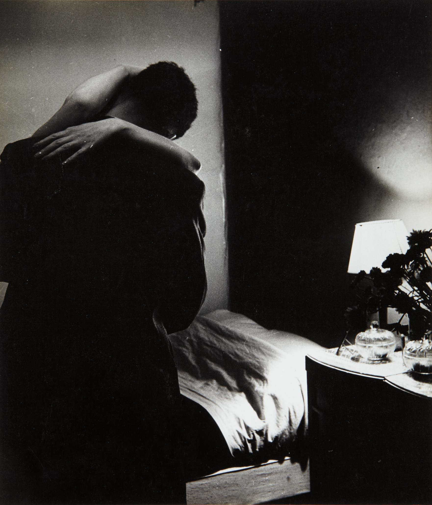Bill Brandt-Soho Bedroom-1934