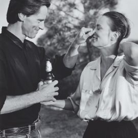 Bruce Weber-Sam Shepard And Jessica Lange, Santa Fe, New Mexico-1984