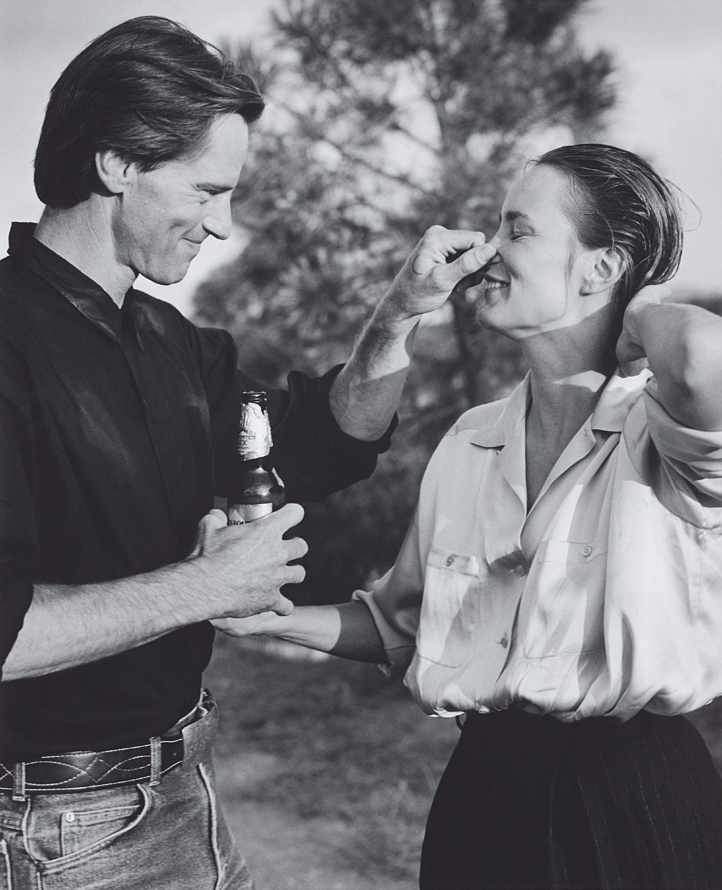 Bruce Weber-Sam Shepard And Jessica Lange, Santa Fe, New Mexico-1984