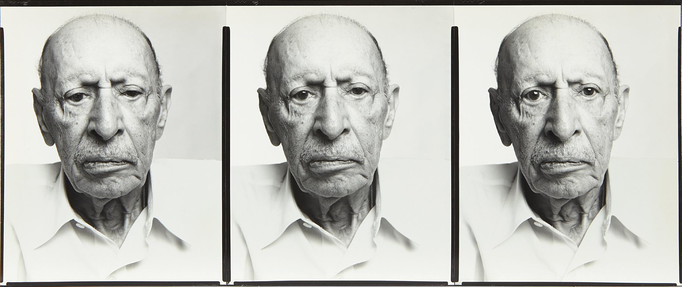 Richard Avedon-Igor Stravinsky, Composer, New York City, November 2, 1969-1969