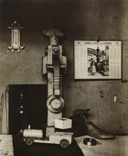 Andre Kertesz-In A Corner Of Léger Studio, Paris-1927