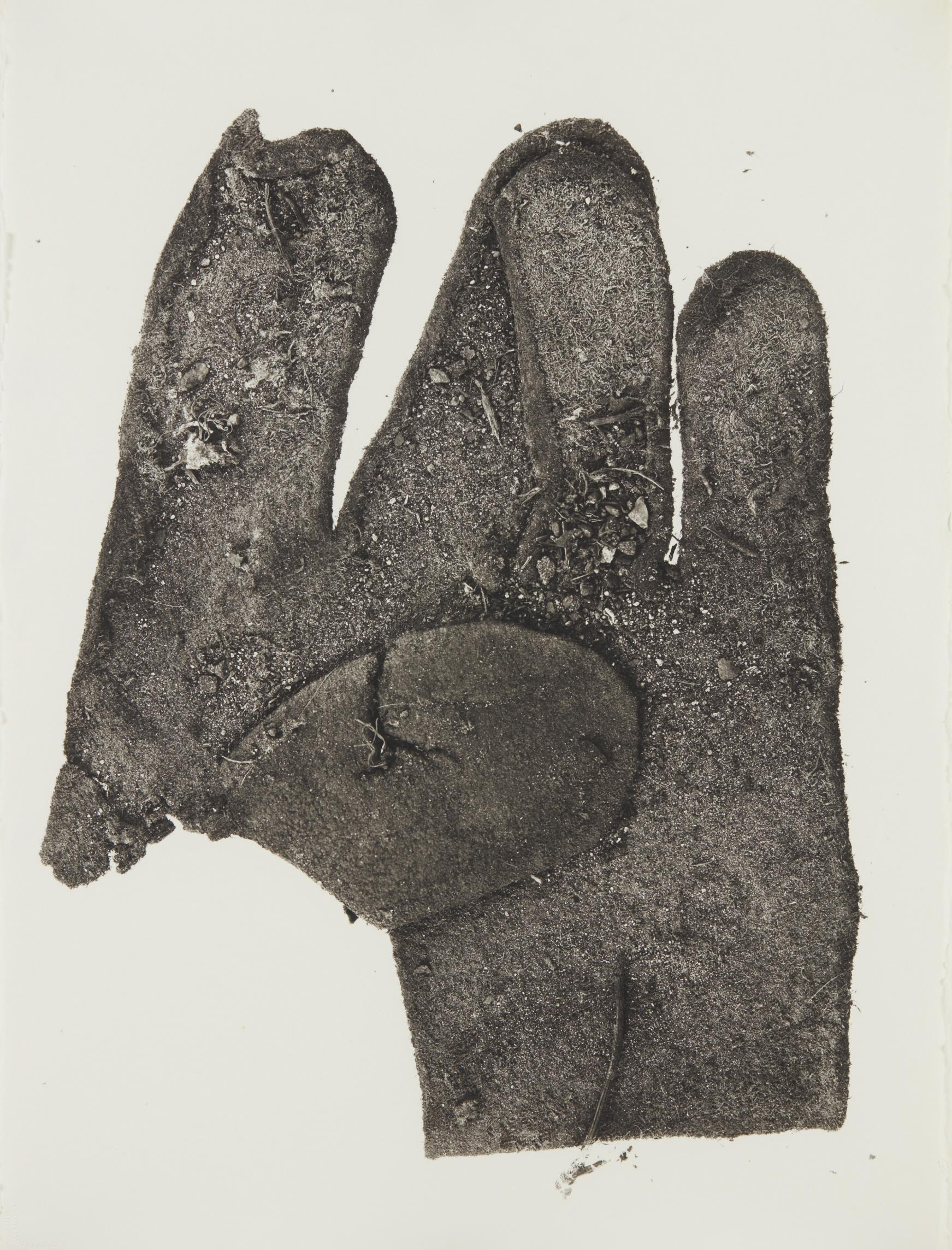 Irving Penn-(Sm) Flat Glove, New York-1975