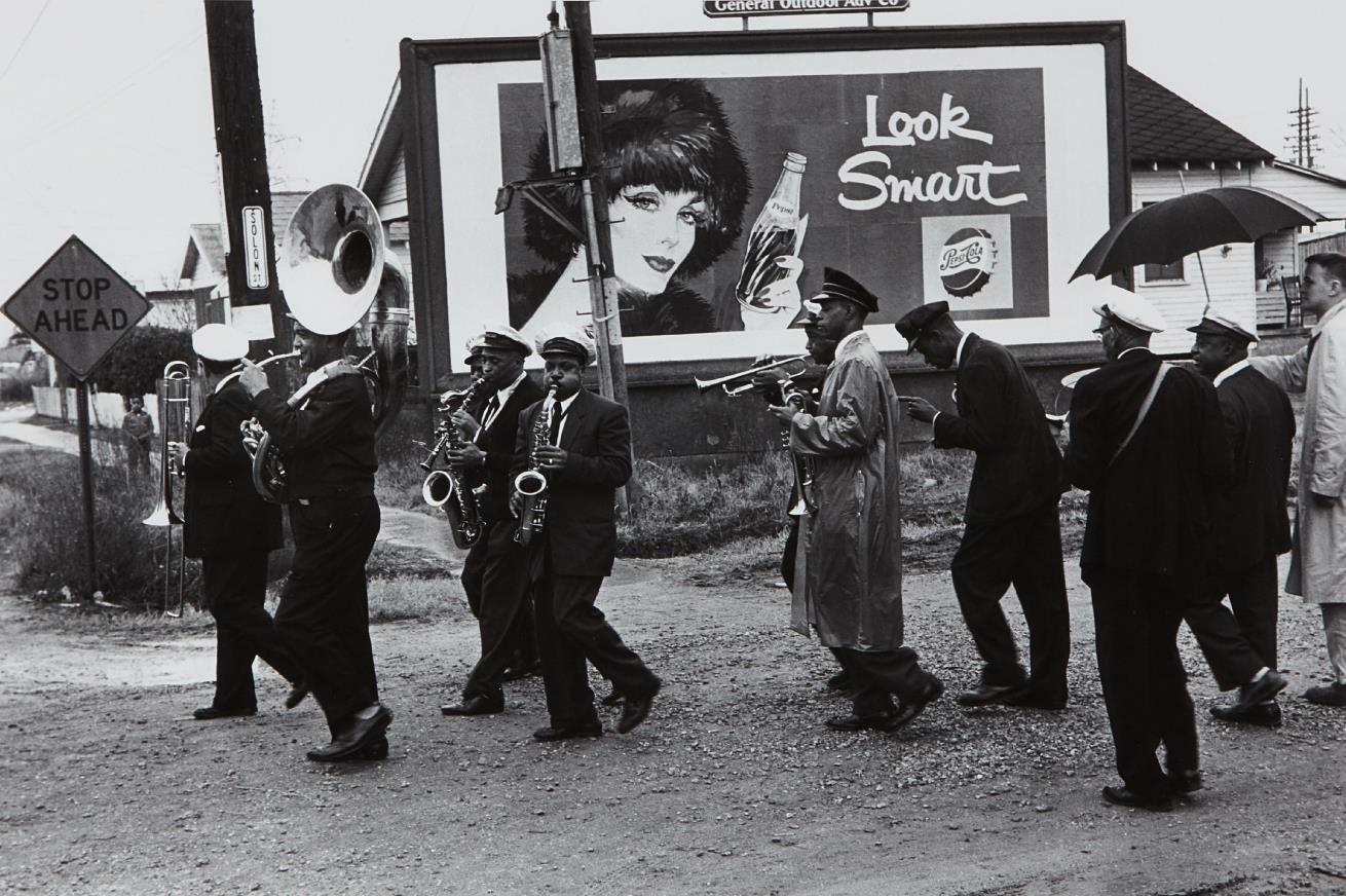 Lee Friedlander-New Orleans Young Tuxedo Band-1959