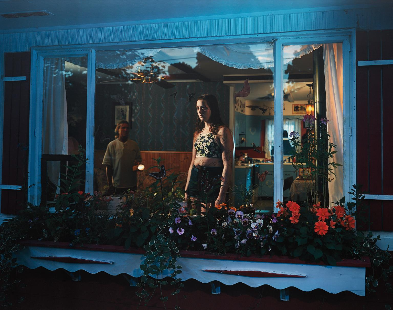 Gregory Crewdson-Untitled (Girl In Window) From Twilight-1999