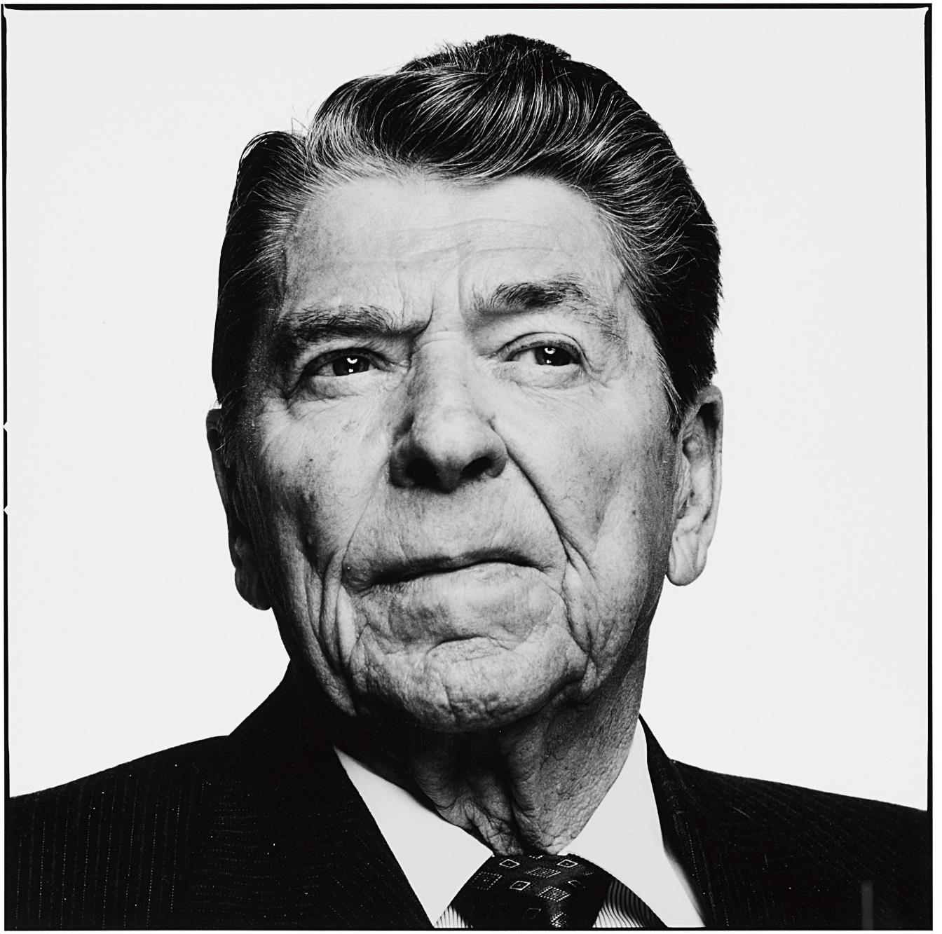 Richard Avedon-Ronald Reagan, Los Angeles, California, April 1, 1993-1993