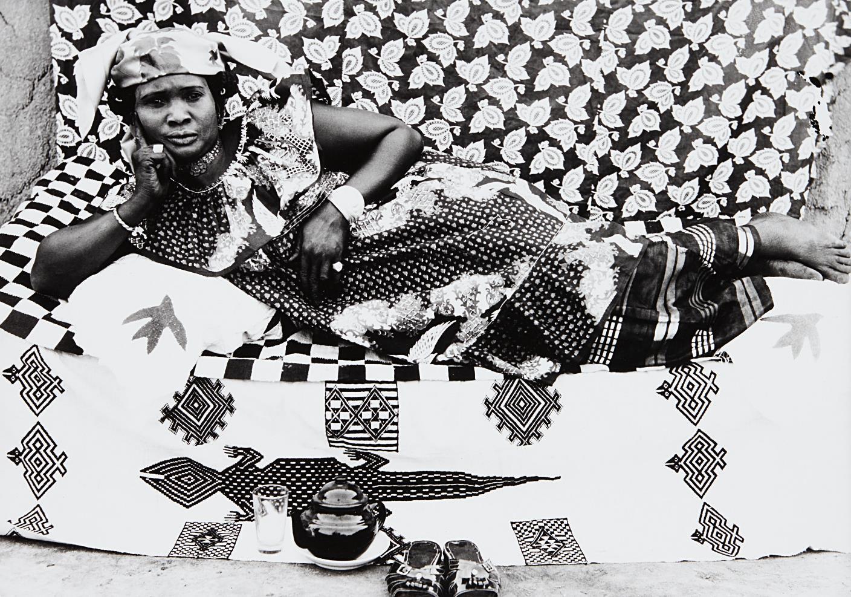 Seydou Keita-Reclining Woman-1958