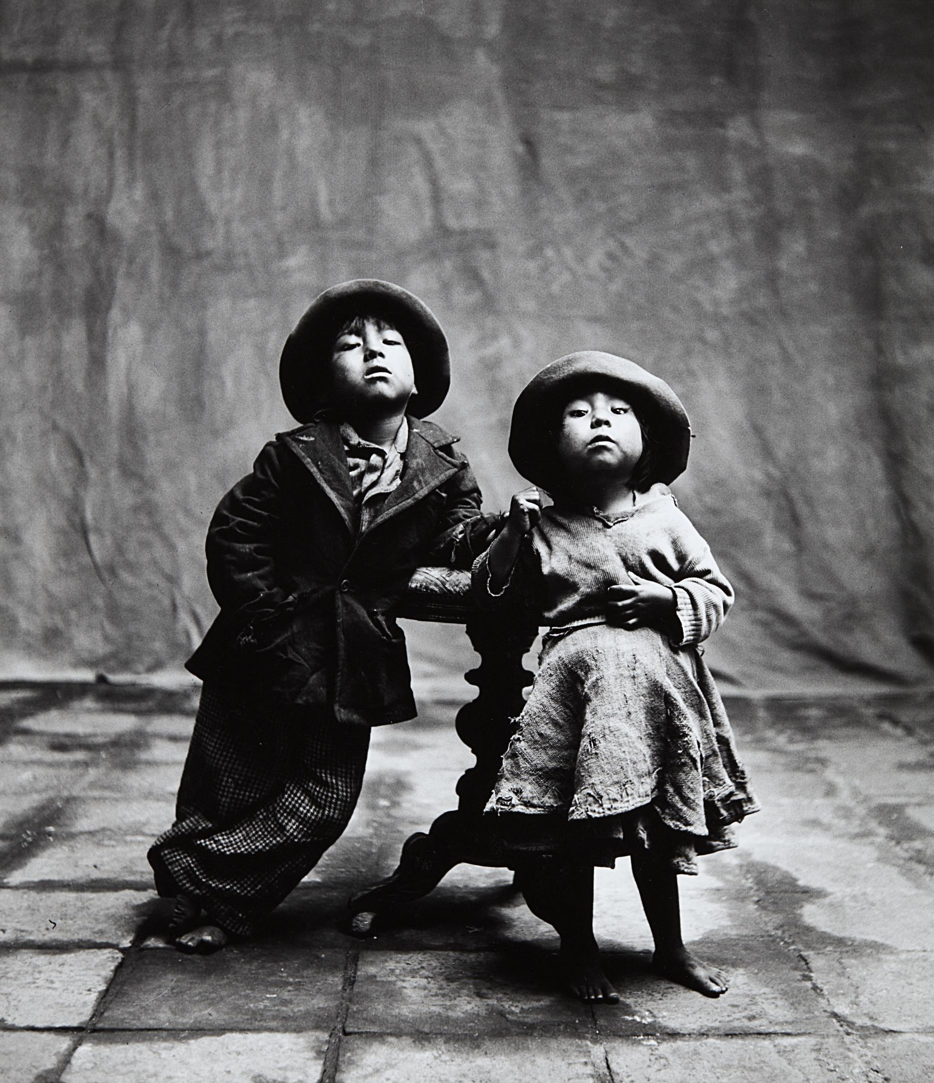 Irving Penn-Cuzco Children, Peru, December-1948