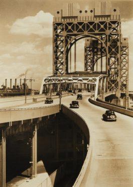 Berenice Abbott-Tri-Borough Bridge, 125Th Street Approach, Manhattan-1937