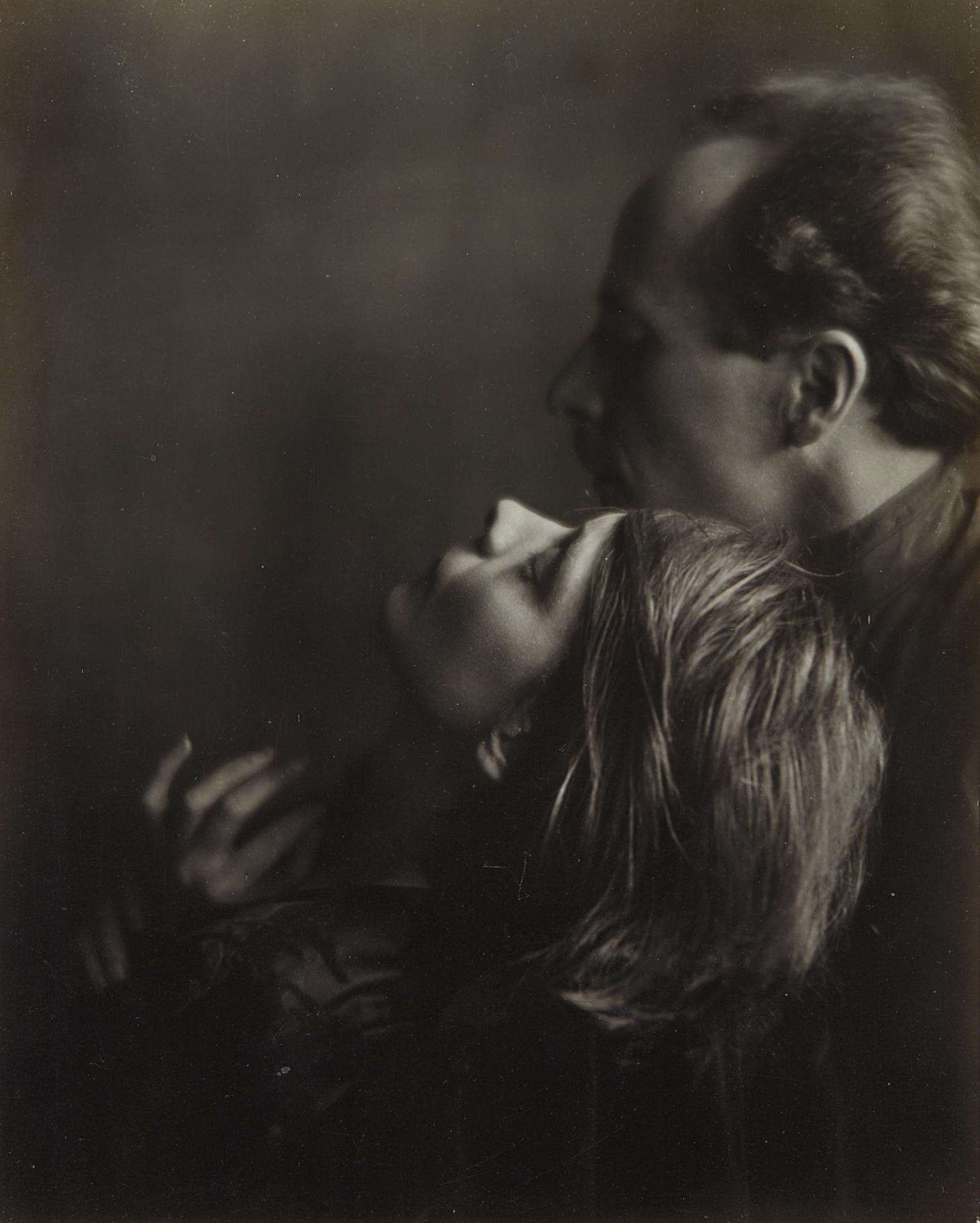 Imogen Cunningham-Edward Weston And Margrethe Mather-1922