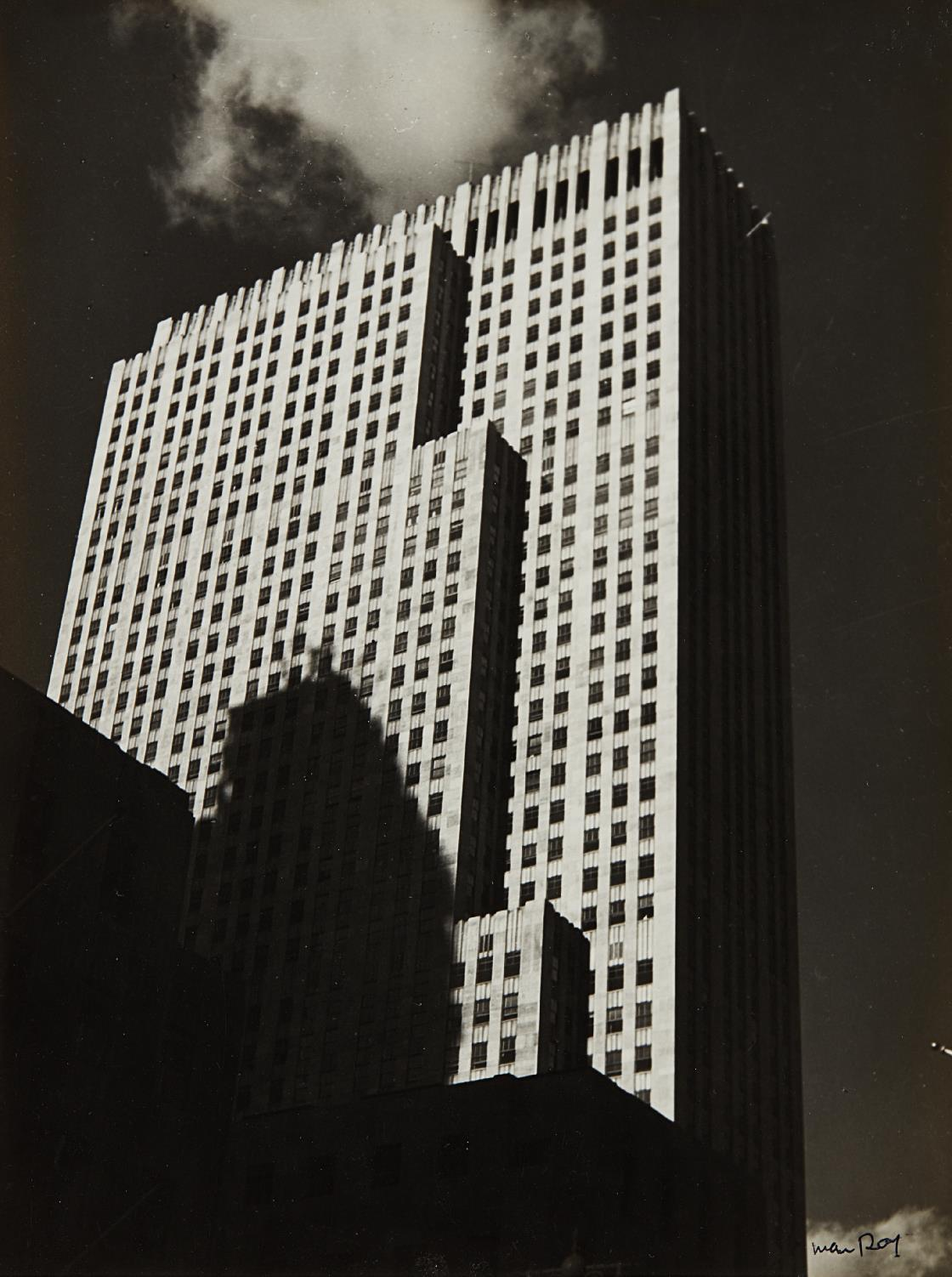 Man Ray-30 Rockefeller Plaza (Rca Building)-1936