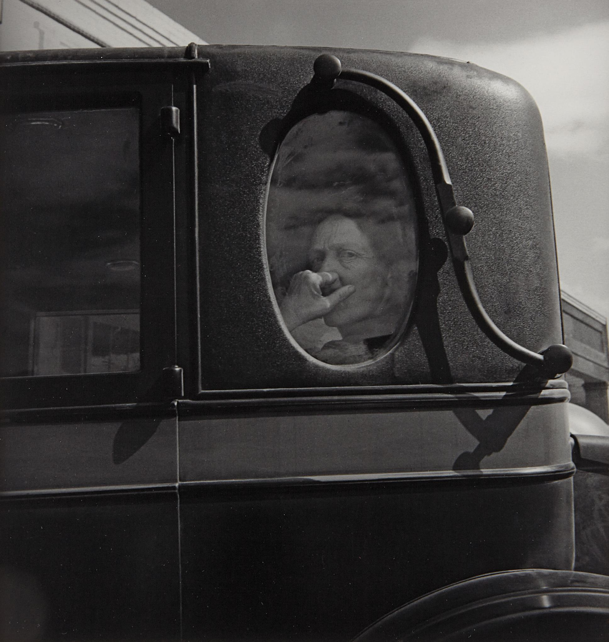 Dorothea Lange-Funeral Cortege, End Of An Era In A Small Valley Town-1938