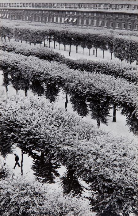 Henri Cartier-Bresson-Gardens Of The Palais Royal, Paris, France-1961
