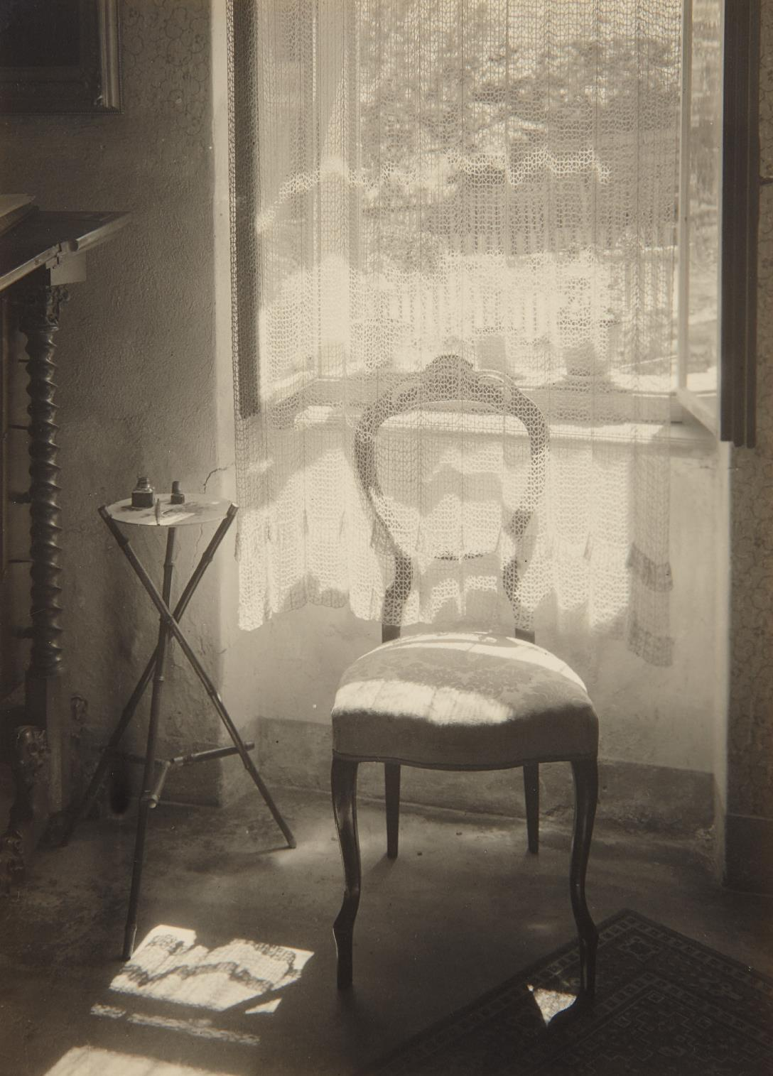 Josef Sudek-At The Janacek's-1948