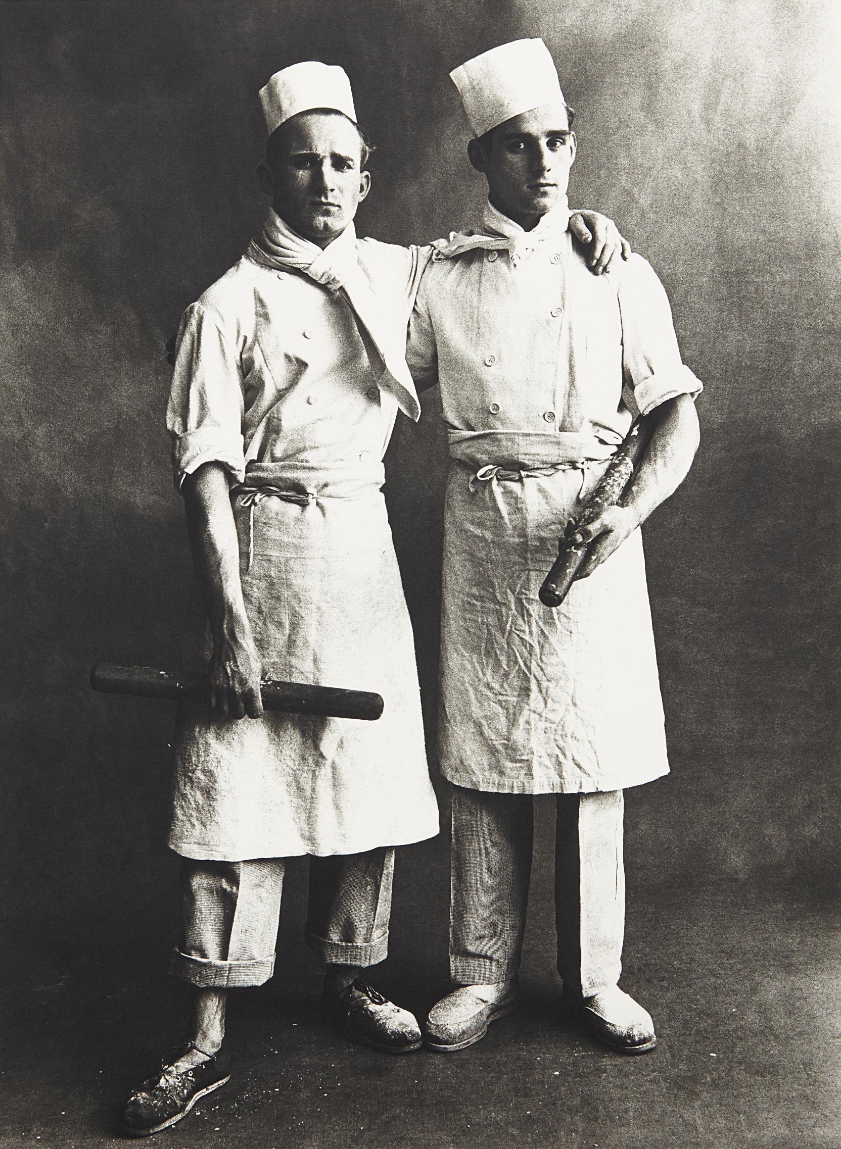 Irving Penn-Patissiers, Paris-1950