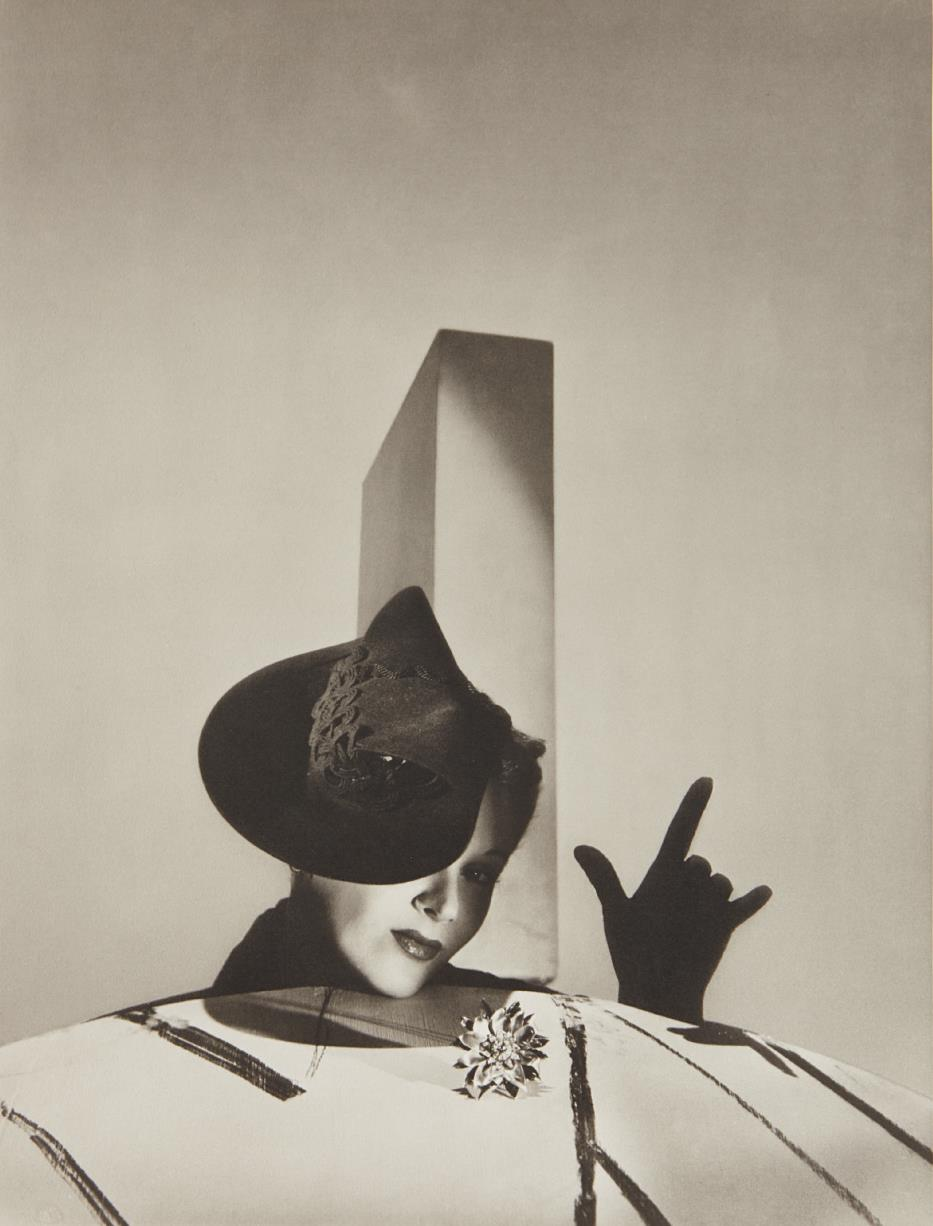 Horst P. Horst-I Love You' - Lisa Fonssagrives With Hat By Balenciaga And Gloves By Boucheron, Paris-1938