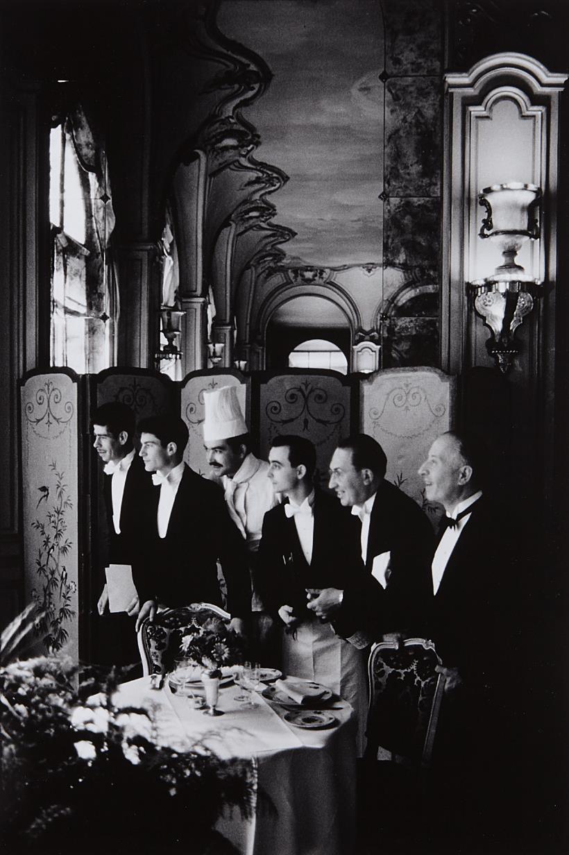 Elliott Erwitt-Waiters And Chef, Hôtel Ritz, Paris, France-1969