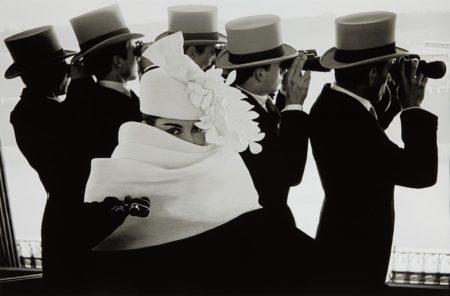 Frank Horvat-Givenchy Hat C, Paris-1958