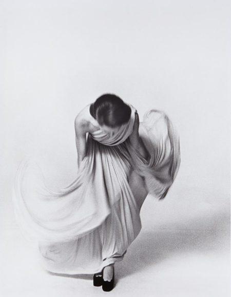 Louis Faurer-Bowing For The Vogue Collections, Paris-1972